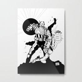 Hail Stopper Metal Print