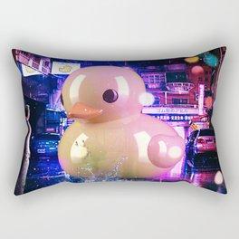 Rubber Duck Alley Rectangular Pillow