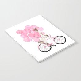 Riding Llama with Pink Balloons #1 Notebook