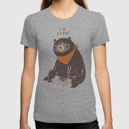 sushi bear T-shirt