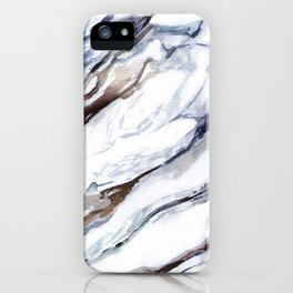 Marble print 1 iPhone Case