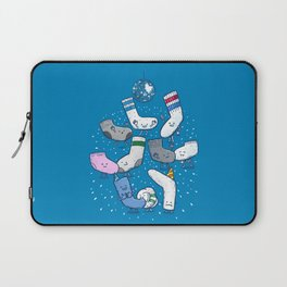 Lost Sock Party Laptop Sleeve