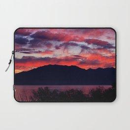 Sunrise at Utah Lake Laptop Sleeve