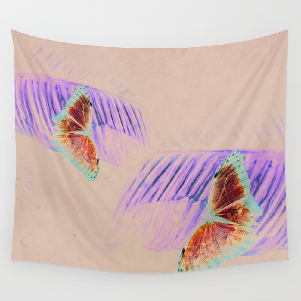 Be Free Butterfly Tapestry by Gricey_visuals TPS8279981