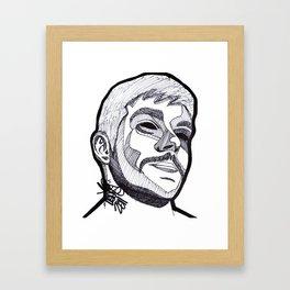 LOUJO. Framed Art Print