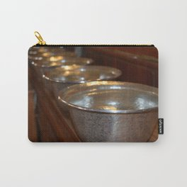 Tibetan Water Offering Bowls Carry-All Pouch