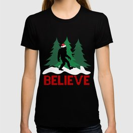 Cryptid Christmas Miracle T-shirt