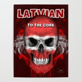 To The Core Collection: Latvia Poster