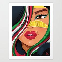 Emiratia Art Print