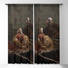 Edmund Leighton - In Time of Peril Blackout Curtain