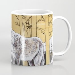 Teton Wolf Coffee Mug
