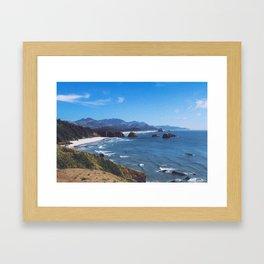 Ecola State Park Framed Art Print