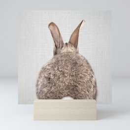 Rabbit Tail - Colorful Mini Art Print