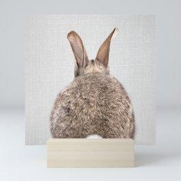 Rabbit Tail - Colorful Mini Art Print