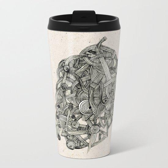 - dark world - Metal Travel Mug