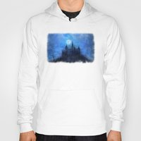 castle in the sky Hoodies featuring Mystical castle by Pirmin Nohr