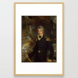 General Andrew Jackson, John Wesley Jarvis Framed Art Print