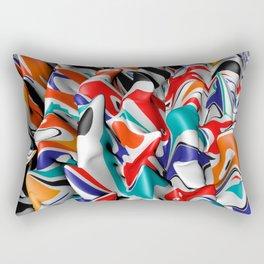 Trippy Pop Fluid II Rectangular Pillow