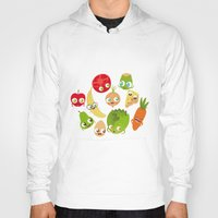food Hoodies featuring Food by Peerro