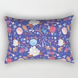 Summer Night Oz Floral Rectangular Pillow