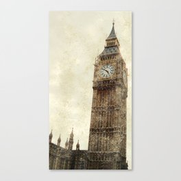 London Flea Market Canvas Print