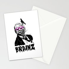 political zombie theme Stationery Cards