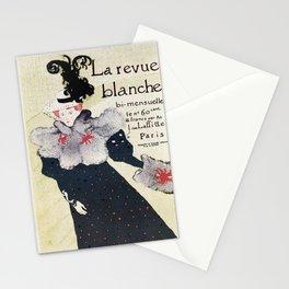 La Revue Blanche Toulouse Lautrec Stationery Cards