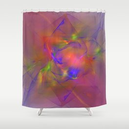 Folds of Pride Alt 2 Shower Curtain