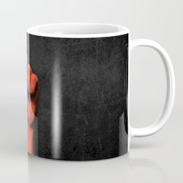 Taiwanese Flag on a Raised Clenched Fist Coffee Mug