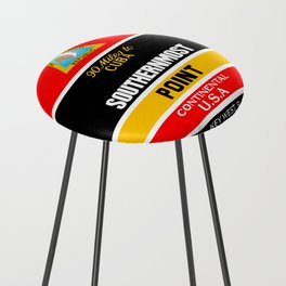 Southern Most Point, Key West, Florida/サザン・モスト・ポイント Counter Stool