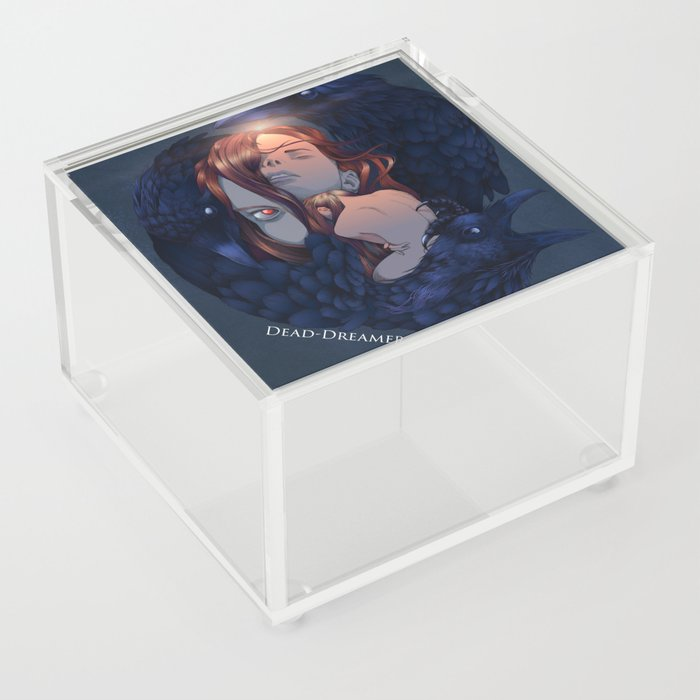 To Dream is to Die - Brenna Whit - Colored Acrylic Box