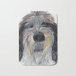 Hairy Dog Bath Mat