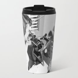 X-4 with Female Computer Travel Mug
