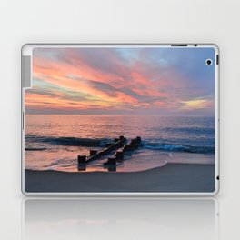 cotton candy beach sky Laptop & iPad Skin