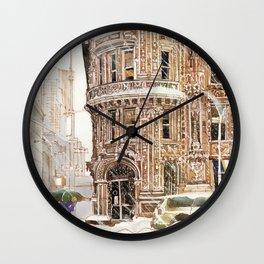 Winter in NYC Wall Clock