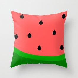 Whimsical Watermelon Throw Pillow