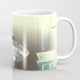 Seattle Space Needle - Negative Green Tea Coffee Mug