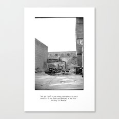 The City 3: Brooklyn In The Back Canvas Print