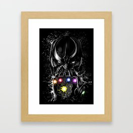 Galaxy infinite Framed Art Print