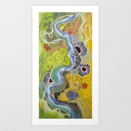 Whimsy1 Art Print