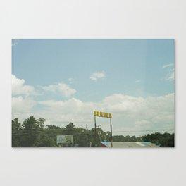 LIQUOR Canvas Print