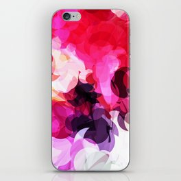 Bright Happy Color Abstract iPhone Skin