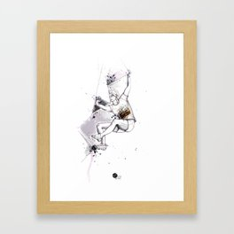 Bas Cu' Girl Framed Art Print