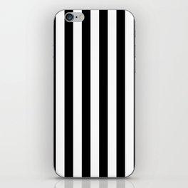 Black and White Stripes  iPhone Skin