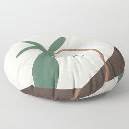 Minimal New Leaf Floor Pillow