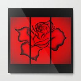 Flowers magic roses 9 Metal Print