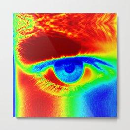 Heat Map, Fun Eye Metal Print