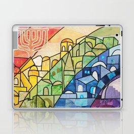 Jerusalem Rainbow Laptop & iPad Skin
