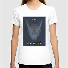 Fox head I AM FOX MULDER T-shirt