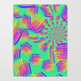 Spring breakers - geometric color Poster